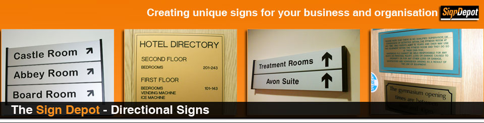 signs - Directional Signs